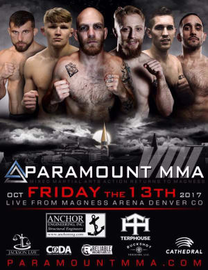 Kids Mixed Martial Arts in Englewood - Factory X Muay Thai - Paramount MMA is back on Friday, October 13th featuring FX'ers Derek Brenon, Salina Rowland and Josh huber (MAIN EVENT!)!