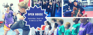 Kids Martial Arts in Charlotte - FTF® Fitness and Self-Defense - Open House Event FREE Classes September 16th!