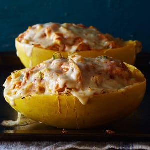 Personal Training in Concord - Individual Fitness - Chicken Enchilada-Stuffed Spaghetti Squash