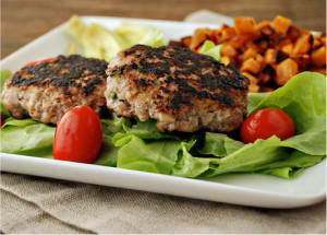 Personal Training in Canberra - Canberra Fitness Centre -  Apple mustard pork burgers