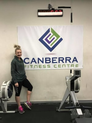 Personal Training in Canberra - Canberra Fitness Centre - August Client of the Month