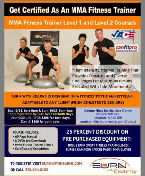 Kids Martial Arts in Medford - Xtreme Ninja Martial Arts Center - MMA Fitness Trainer Level 1 & Level 2 Courses