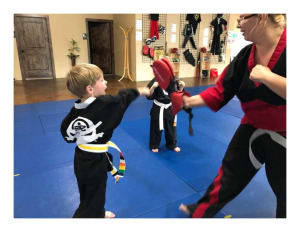 Kids Martial Arts  in Grand Junction  - Martial Arts Research Systems Of Colorado - The Benefits That Martial Arts Can Provide for 5 and 6-year olds