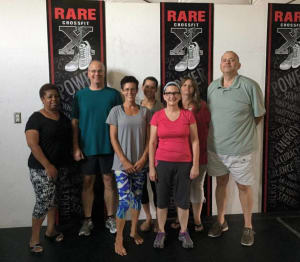 Sunday means YOGA at RARE CrossFit in Fredericksburg!