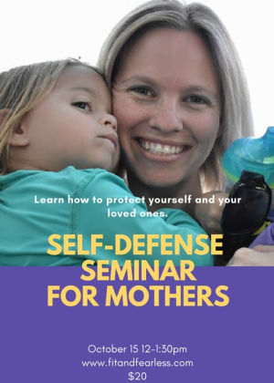 Kids Martial Arts  in Austin - Fit & Fearless - Mother's Self Defense Seminar