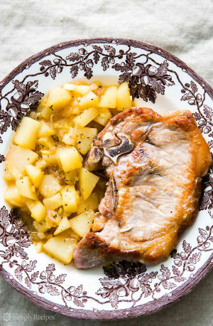 Recipe Of The Week: Pork Chops with Ginger Pear Sauce