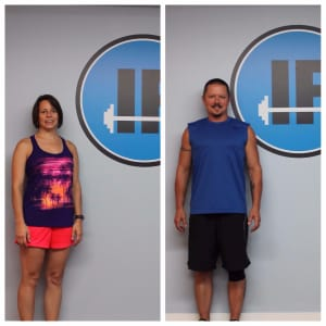 Personal Training in Concord - Individual Fitness - Client of the Month October 2017 - Kim & Eric Brewster