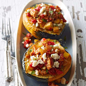 Personal Training in Concord - Individual Fitness - Mexican Stuffed Acorn Squash