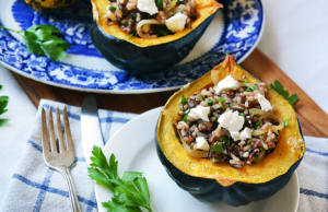 Personal Training  in Los Gatos - Mint Condition Fitness - Recipe of the Week: Stuffed Acorn Squash with Wild Rice