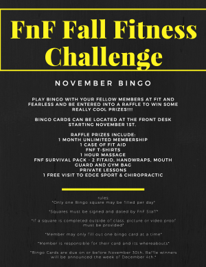 Kids Martial Arts  in Austin - Fit & Fearless - Fall Fitness Challenge