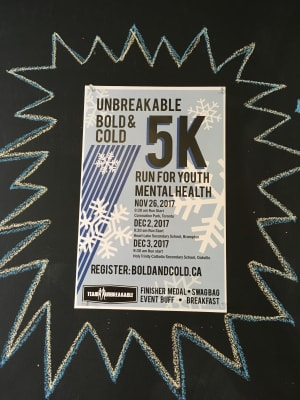 Personal Training in Brampton - Impact Fitness - UNBREAKABLE BOLD & COLD 5k Run