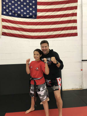 Kids Martial Arts in CAMBRIDGE - American Martial Arts Center - Charlotte Cavanaugh