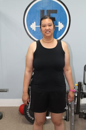 Personal Training in Concord - Individual Fitness - November 2015 - Donna Oetama