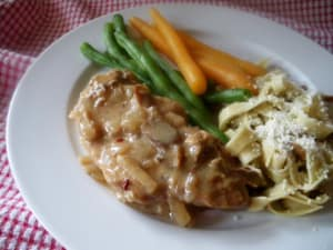 Personal Training in Concord - Individual Fitness - Slow Cooker Pork Chops with Mushrooms & Carrots