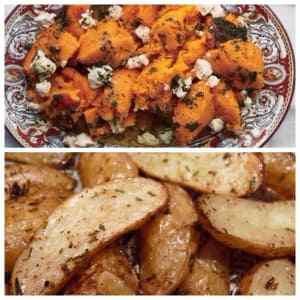 Personal Training in Concord - Individual Fitness - Healthy Thanksgiving Sides - Roasted Butternut Squash / Roasted Fingerlings