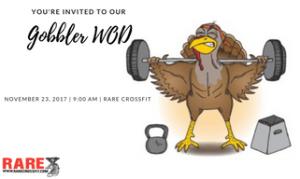 CROSSFIT in Fredericksburg - RARE CrossFit - Thanksgiving Gobbler WOD at RARE CrossFit, Fredericksburg, Spotsylvania, and Stafford's premier CrossFit Facility?