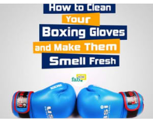 How to Keep Boxing Gloves Clean and Odor Free