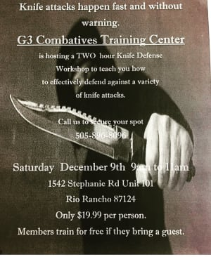 Kids Krav Maga in Rio Rancho - G3 Combatives Training Center