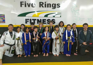 Kids Martial Arts in Portland and Beaverton - Five Rings Jiu Jitsu - Youth Belt Promotions - Nov. 15th - Nov. 21st 2017