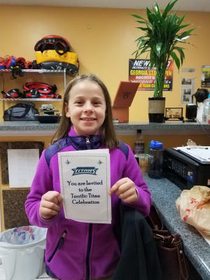 in Lawrenceville - Team Mongoose BJJ - Cedar Hill Student of the Month