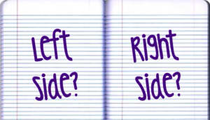 Righty or Lefty? How to start becoming familiar on your non dominate side
