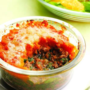 Personal Training in Concord - Individual Fitness - Mini Winter Squash Shepherds pie