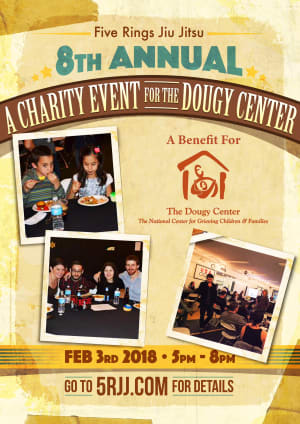 Kids Martial Arts in Portland and Beaverton - Five Rings Jiu Jitsu - 8th Annual Gala Party and Charity Auction - Saturday, Feb. 3, 2018