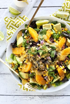Recipe Of The Week: Mexican Quinoa Salad With Orange Lime Dressing