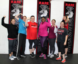 Our RARE Bootcampers are joining RARE CrossFit in Fredericksburg