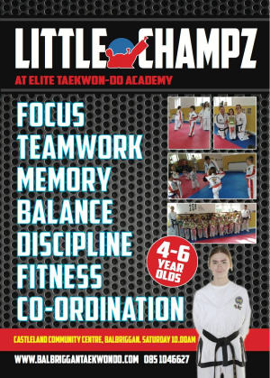 Kids Martial Arts in Balbriggan - Elite Taekwondo Academy