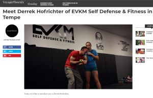 EVKM Chief Instructor in Voyage Phoenix