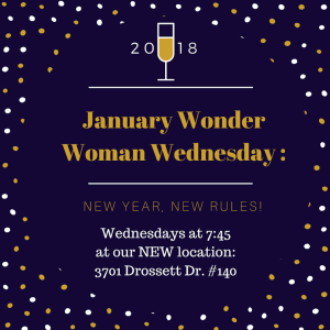Wonder Woman Wednesday January