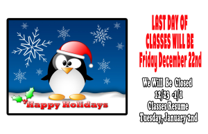 in Nyack  - 5150 Martial Arts - Happy Holiday's from 5150 Martial Arts
