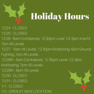 Kids Martial Arts  in Austin - Fit & Fearless - Holiday hours