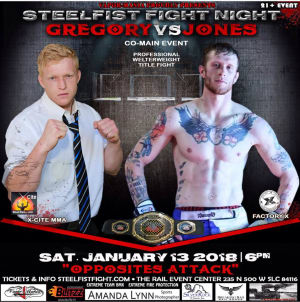 Kids Mixed Martial Arts in Englewood - Factory X Muay Thai - Mike Jones MMA FIGHT ANNOUNCEMENT: Co-main event • #welterweight title • SteelFist Fight Night 1/13/18 • Salt Lake City, UT!