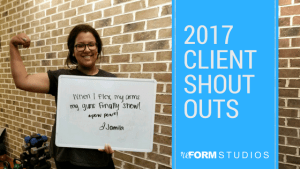 Personal Training in North Charleston - reFORM Studios - 2017 Client Success Shout Outs