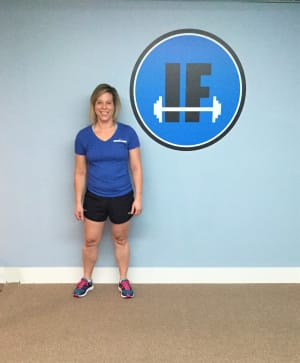 Personal Training in Concord - Individual Fitness - Tracey Cote - January 2018 Client of the Month
