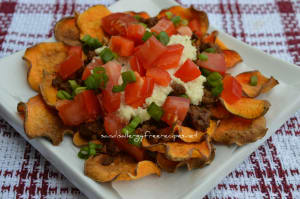 Watching football?  Try these nachos!