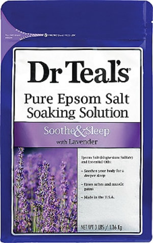 Sore muscles?  Try Epsom salts for recovery!