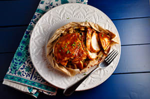 Recipe of the week: BBQ Chicken En Papillote