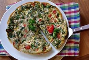 Kale & Tomato Frittata