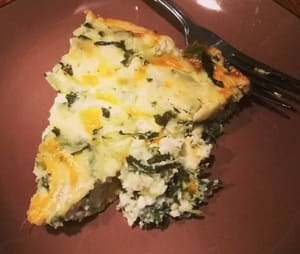 Personal Training  in Campbell - 5:17 Total Body Transformations - Spinach Quiche
