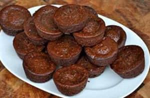 Double Chocolate Mini Brownies