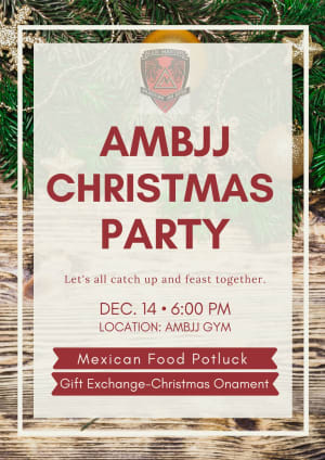 AMBJJ Christmas Party