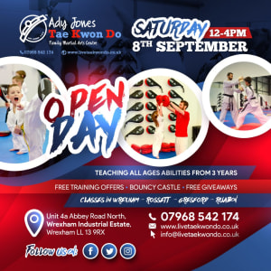 Ady Jones September Open Day