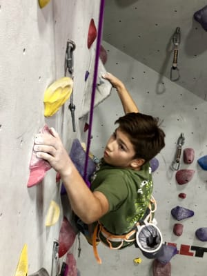 An interview with JohnPaul Seberger - Rock Climber