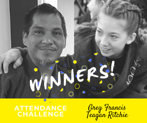 in Ottawa - 100% Martial Arts & Fitness - Attendance Challenge Winners!