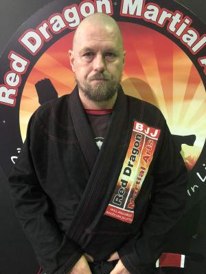 Brett Fenton in Caboolture - Red Dragon Martial Arts