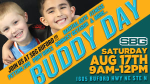 Buddy Day at Straight Blast Gym is August 17th