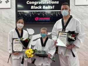 CONGRATS to our newest Black Belts!